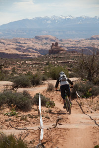 The Moab Enduro Cup features great scenery. Photo: Eric Odenthal