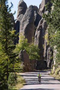 The Needles Highway is aptly named.