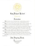 Gov Declaration of Utah Bicycling Month May 2014