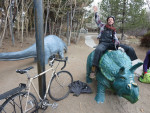 Ride a statue 100 points