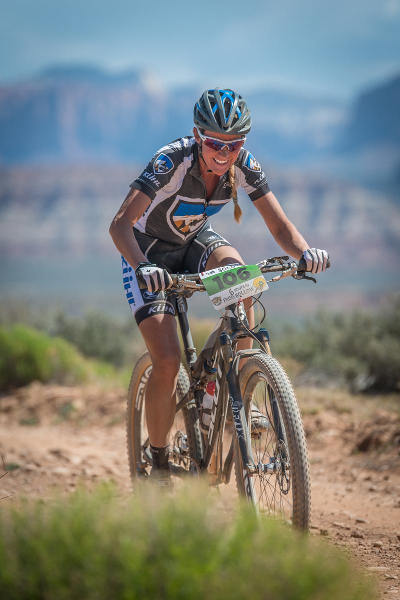Joey Lythgoe won the women's solo division. Photo: Bryce Pratt/Crawlingspider.com