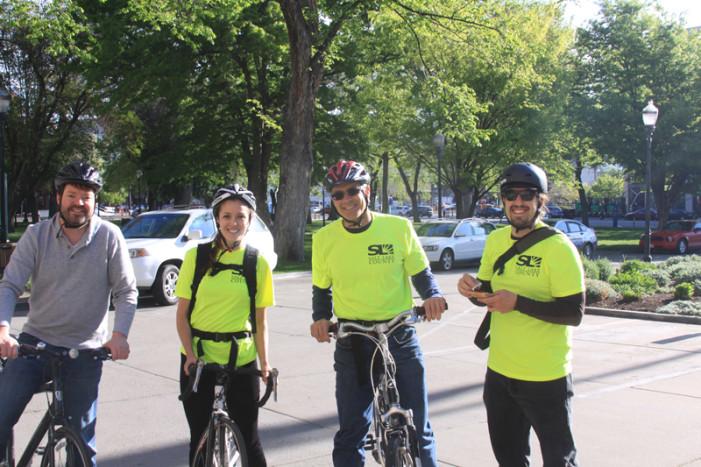 Salt Lake County Bicycle Ambassadors Encourage Bike Commuting