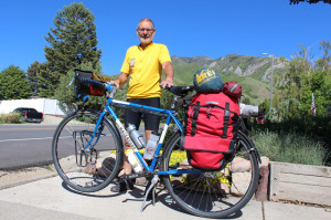 Lou Melini ready to embark on an overnighter to Affleck Park on his