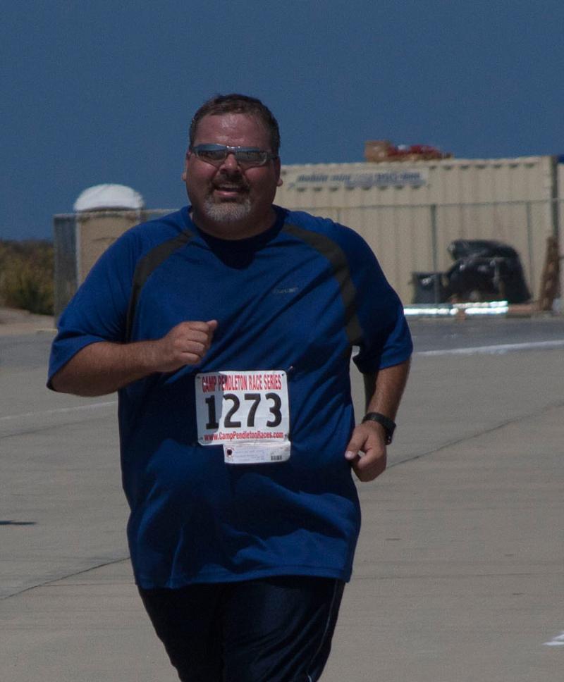 Mark Wright competing at Camp Pendleton. Photo: James Wright.