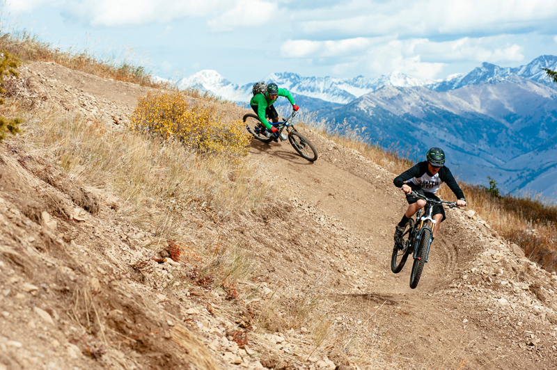 Sun Valley has great trails. Photo courtesy Visit Sun Valley.