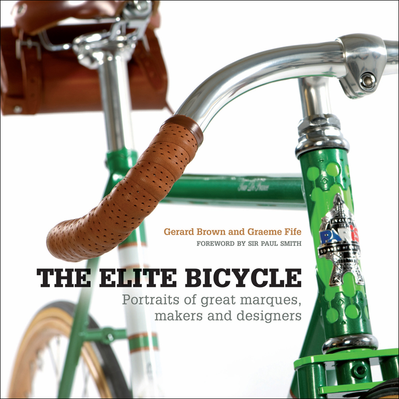 Book cover -The Elite Bicycle by Gerard Brown and Graeme Fife