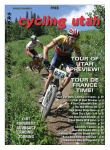 Cover Photo:  Eric Jones (Raleigh Factory Team) won the Utah State Championship over Alan Obye (SRAM) on July 1, 2006 Photo by Dave Iltis, see more photos online at
