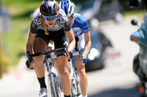 Tayler Wiles racing at Redlands. Photo: Veloimages.