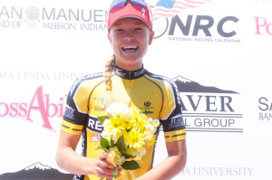 Utah's Tayler Wiles won the Redlands Classic in 2014. Photo: Veloimages.