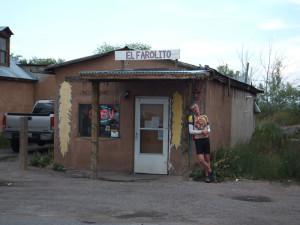 El Farolito restaurant in El Rito, New Mexico, best meal on the trip!