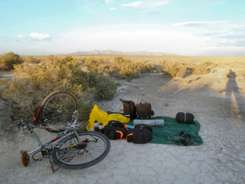 First campsite, north end of Skull Valley.
