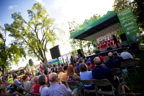 Team Presentation at the Main Street Park in Cedar City. Photo by Cottonsoxphotography.net