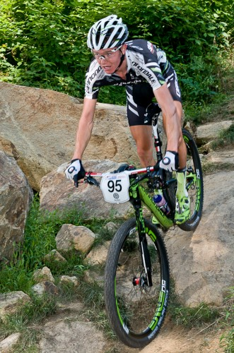Keegan Swenson won the U-23 National Cross Country Championship. Photo: USA Cycling/Todd Leister