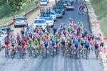 2014 Tour of Utah Stage 7 – peloton on wolf creek climb
