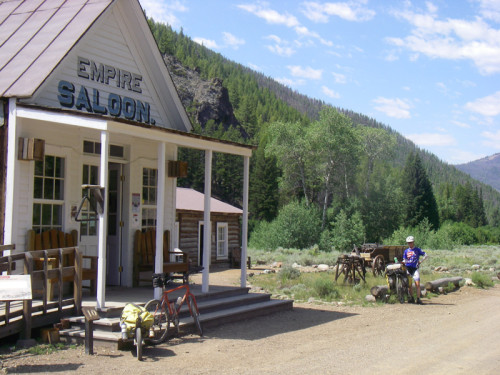 The 'saloon' in Custer.