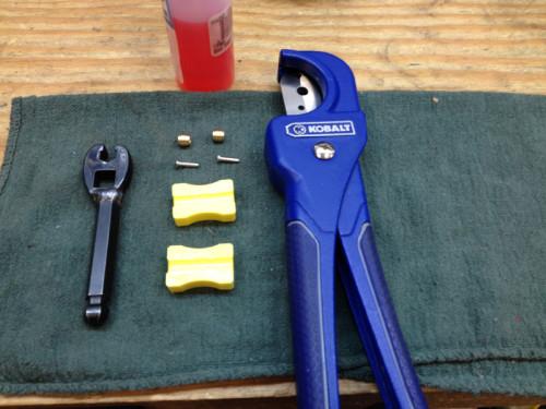 Brake line cutting tools.