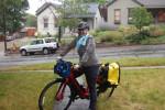 Elicia Cârdenas commutes on a Specialized Turbo E-bike. Photo: Courtesy Elicia