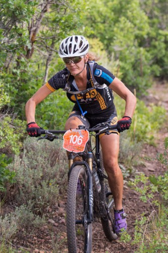 Gretchen Reeves won the women's open category. Photo by Angie Harker,