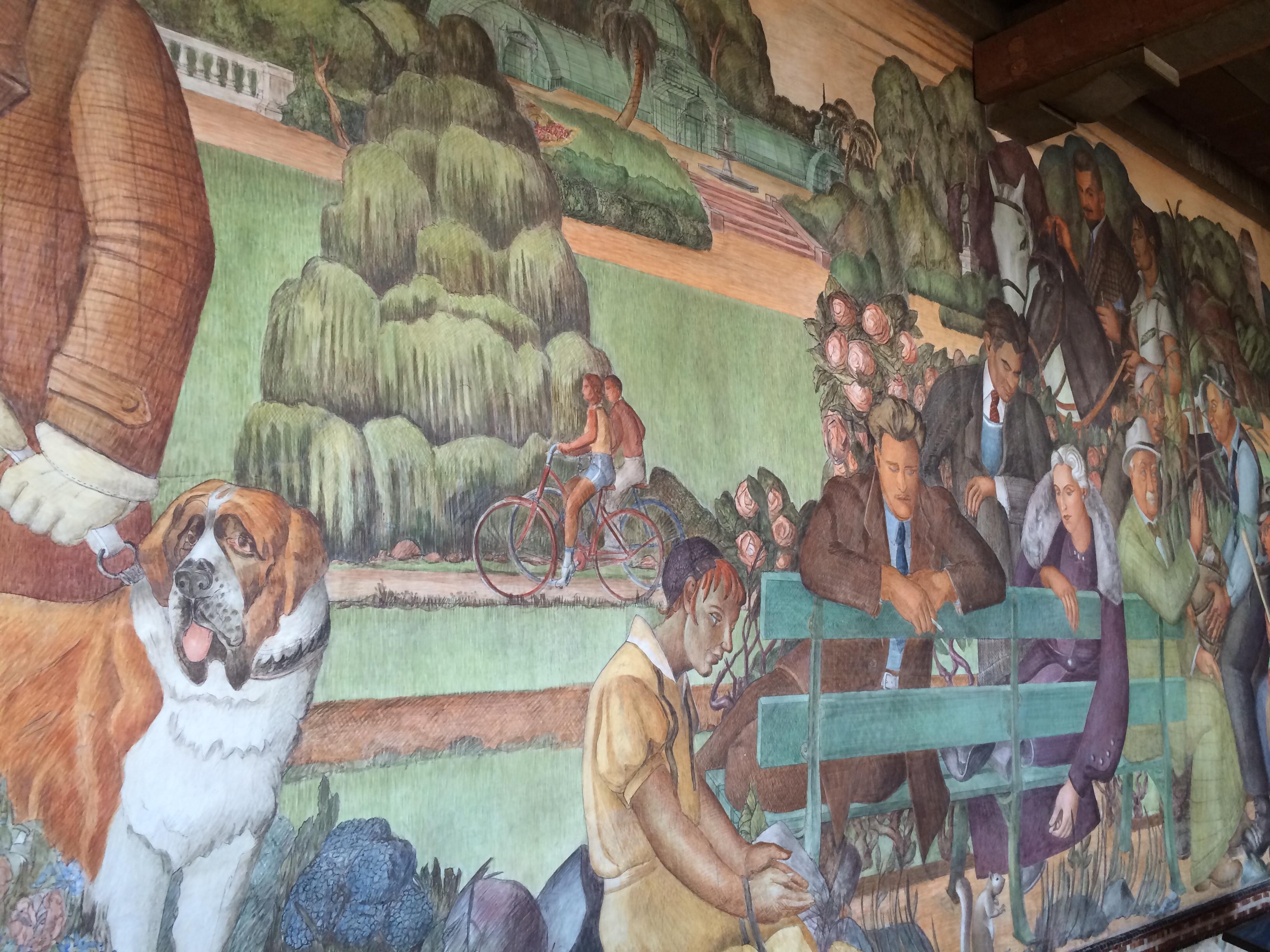 Lucien Labaudt mural