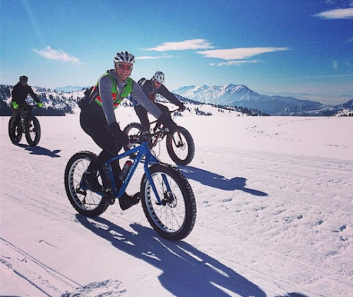 The 2015 Fat Bike National Championships will take place at Powder Mountain from 2-12-15 to 2-14-15. Photo courtesy VisitOgden.