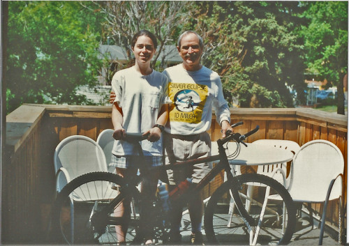 Katy's Dad gave her the bike in 1996 as a graduation present.