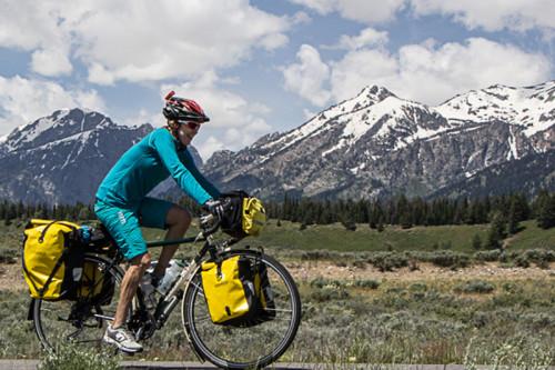 Bicycle Touring Teton national Park