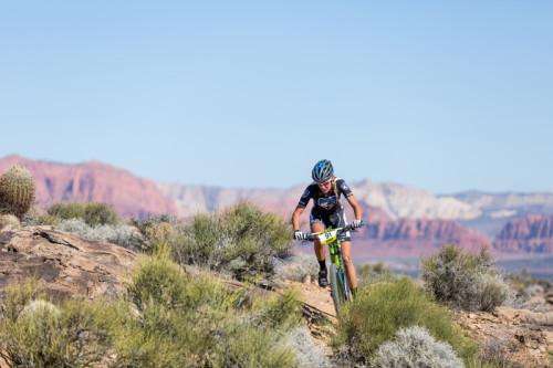 Women Pro Mountain Bike Racer Joey Lythgoe