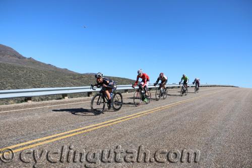 Rob Smallman leads the break in the Men's Pro/1/2 race. Photo by Dave Iltis