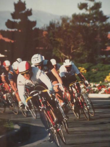 Salt Lake City bicycle racing International center - circa 1988