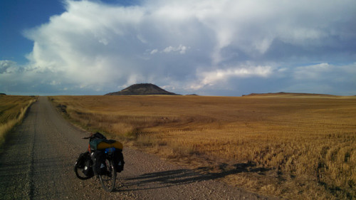 Bicycle touring Soda Springs Idaho