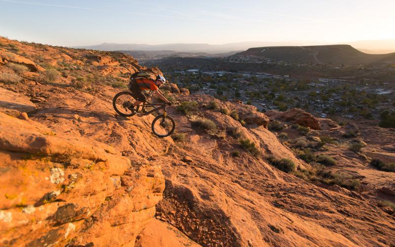 Mountain biking st george utah
