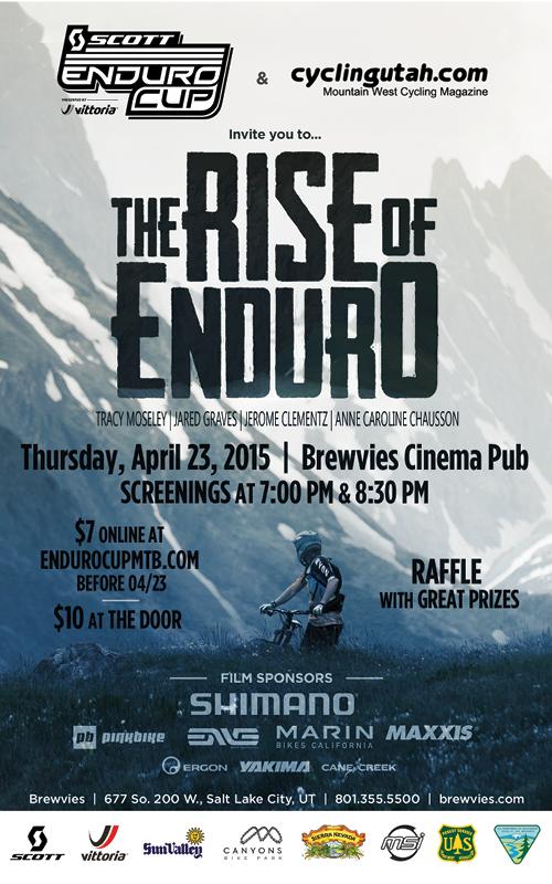 Rise of Enduro Movie Poster Salt Lake City