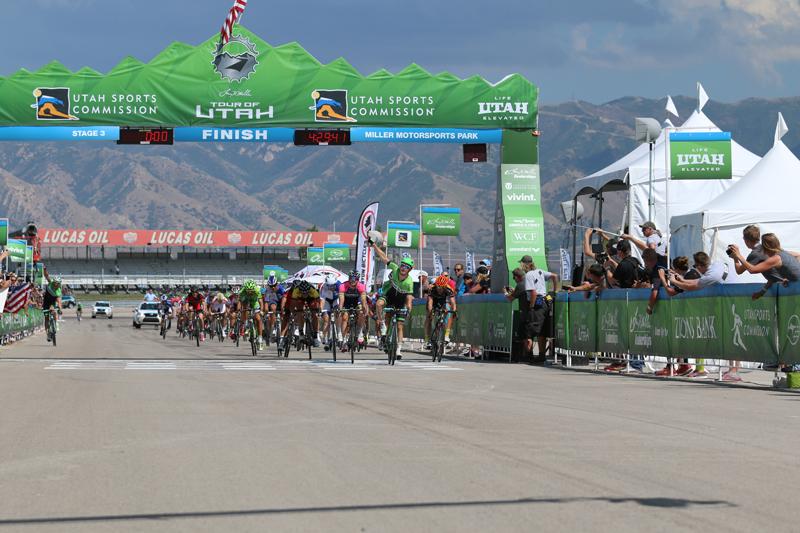 2014 Tour of Utah Stage 3 sprint