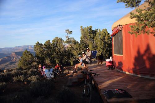Gooseberry Mesa Yurt