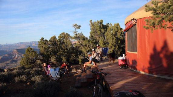 Gooseberry Mesa Yurt Life