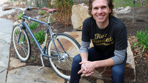 Kylan Lundeen Upgrades his Bike and Life through Cycle Commuting