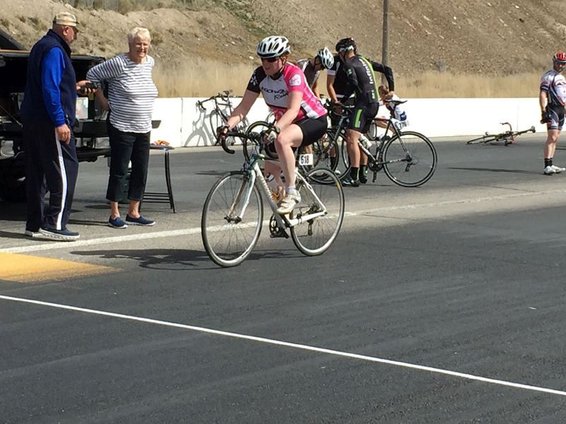Introductory bike racing for women