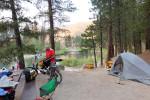 Camping MIddle Fork Boise River
