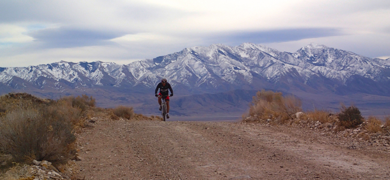 Cedar Mountains Utah Cycling