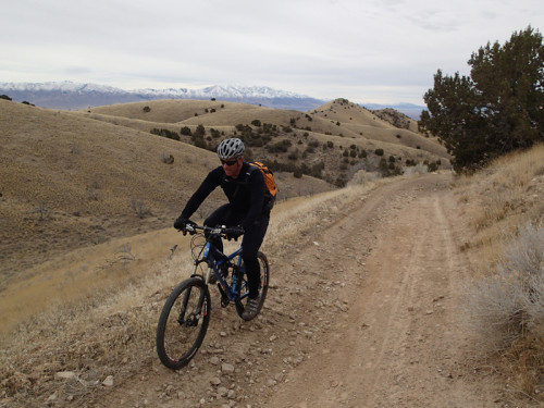 Mountain biking Ceder Mountains Utah