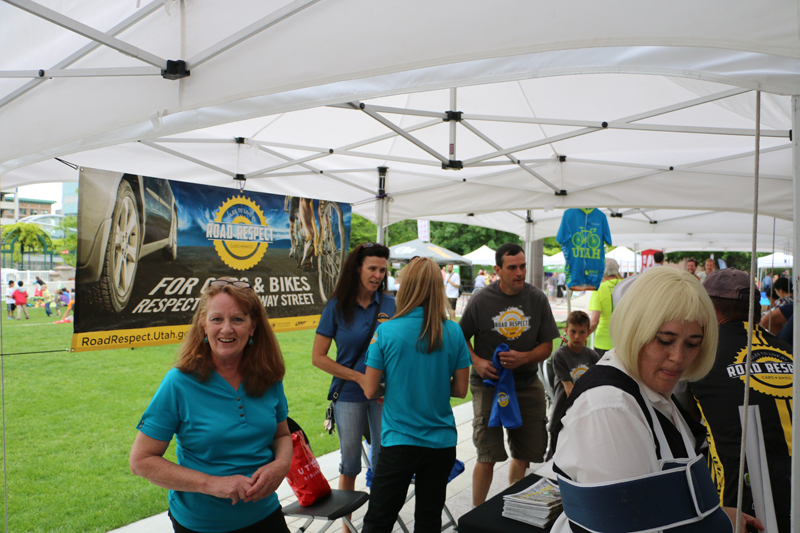 UTA's Bike Bonanza features booths, a kids bike rodeo, giveaways, and more. Photo by Dave Iltis