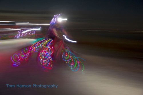 The Antelope by Moonlight Ride will travel 24 miles under the full moon. Photo by Tom Hanson Photography