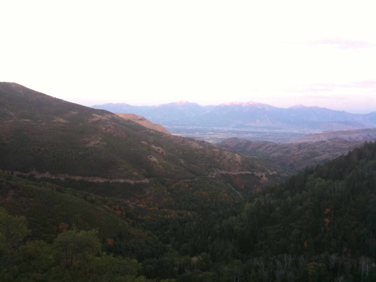 Oquirrh Mountains bicycle ride