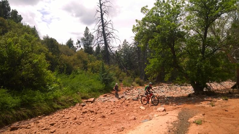 Sedona AZ Mnt Biking