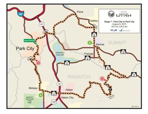 Stage 7 - 2015 Tour of Utah - Park City to Park City
