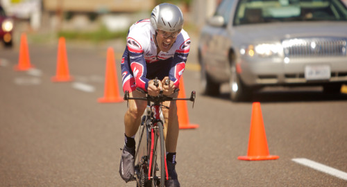 The Capitol Reef Stage Race  features a time trial. Photo courtesy Capitol Reef Classic.