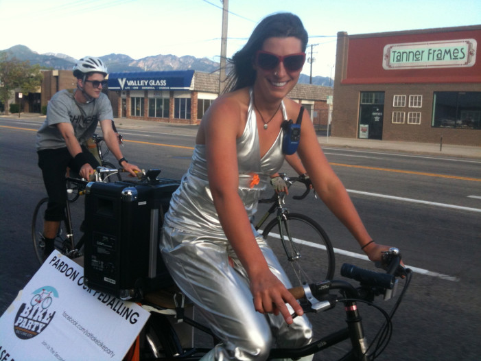 Salt Lake City Bike Party is a Rolling Shindig