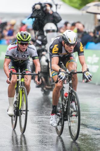 Johann van Zyl charging through,  Stage 1, 2015 Tour of Utah, daverphoto.com