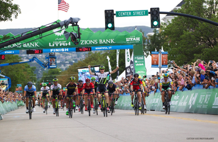 Owen Wins Tour of Utah Stage 3 in Sprint; Reijnen Keeps Yellow Jersey
