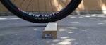 Mountain bike tire press